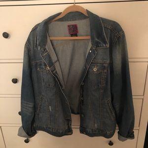 Torrid jean jacket size 2
